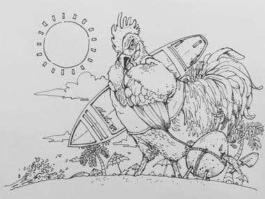 Illustration/Line Drawing