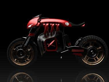 Ducati electric motorcycle concept