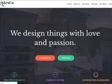 Tischlerco (Wordpress site)