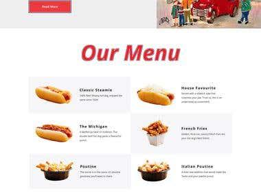 ChezMatante Wordpress Website