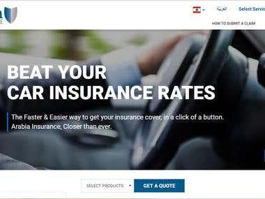 Arabia Insurance Portal