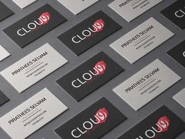 Business Card Design for Cloud9