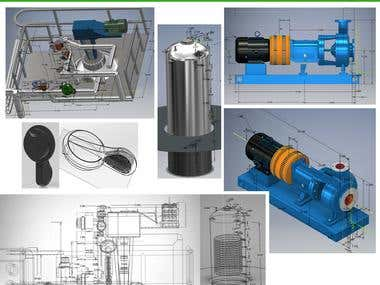Inventer and Solidworks