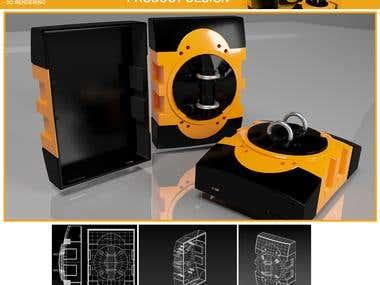 Product Design (3D Modelling)