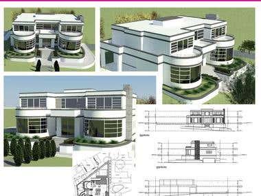 Revit & Auto Cad/Cam, Building Architecture