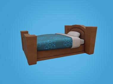 Stylized Bed