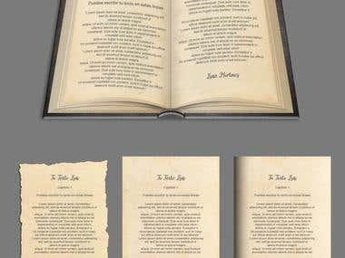 Diseño/maquetación libro y páginas