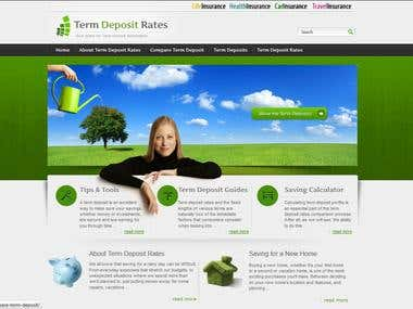 Terms Deposit - Wordpress