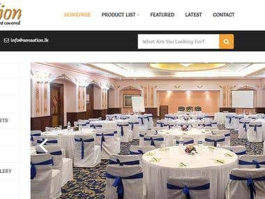 PROFESSIONAL WEBSITE FOR EVENT MANAGEMENT AGENCY