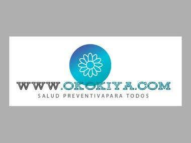 Diseño de logotipo para página de salud