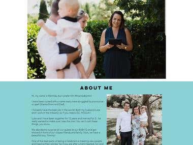 Melinda's Wedding Company Profile