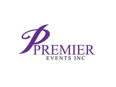 Logo for events and tent rental company