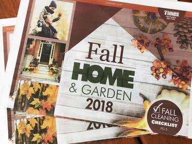 Fall Home and Garden Cover