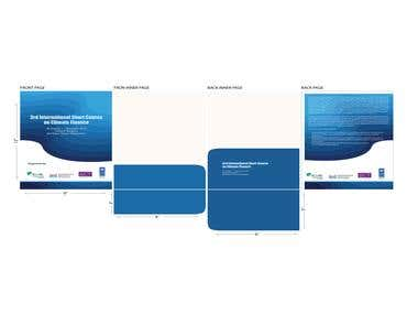 Folder, Notepad, Flyer And Book Cover Design