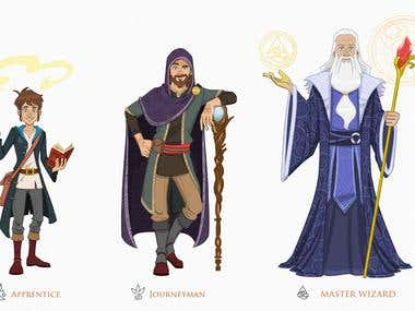 Wizard Illustrations