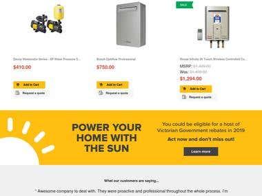 BigCommerce Online Shop