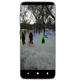 Human tracking android app