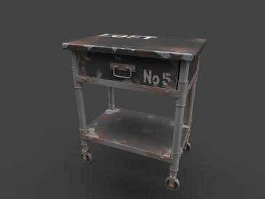 Game asset (table)