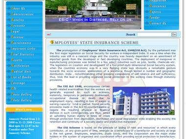 Organizational_Website #1 (Govt. Project)