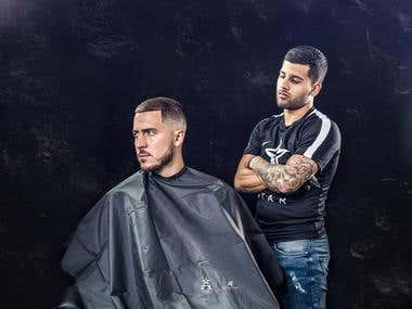 Campaign and Marketing Shoot for Hair Style Product Brand
