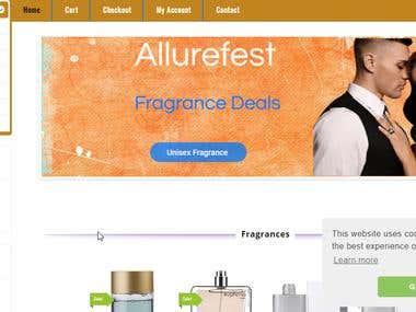 fragrance website