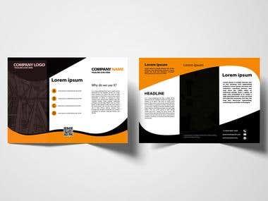 Brochore Design Tri fold