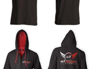 T-shirt and jacket design