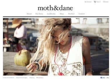 moth-dane on shopify