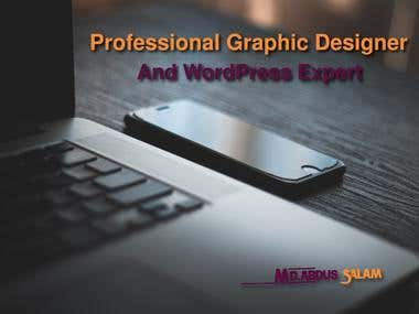 Professional Graphic Designer And WordPress Expert