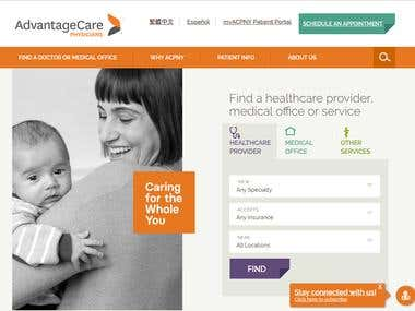 Advantage Care Portal