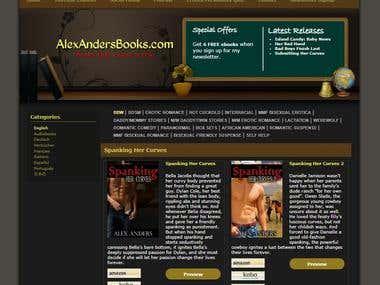 AlexAndersBooks Website