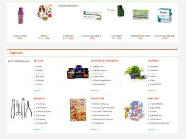 Medical Portal - Ecommerce website