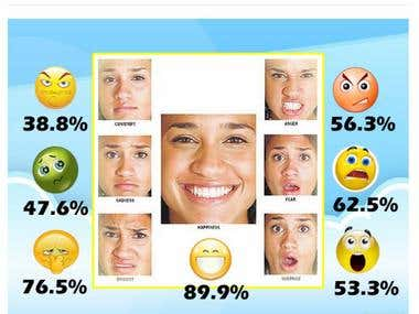 Facial detection and emotion detection