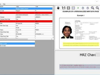 MRZ detection and recognition using openv, machine learning.