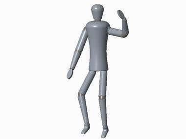 HUMAN 3D MODEL DESIGN