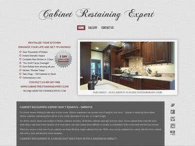 Cabinet Restaining Expert