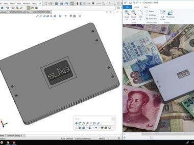 Safe Travel Wallet: Modeling in SolidWorks for CNC machining