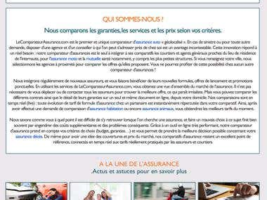 Comparison Site for Insurance
