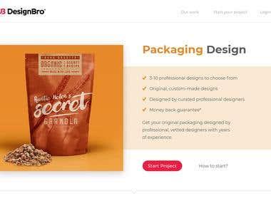 DesignBro (Front-end)