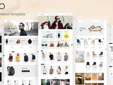 Gixco - HTML5 eCommerce Template