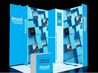 Conference Stand. Design