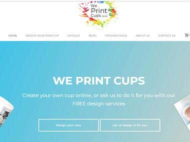 We Print Cups