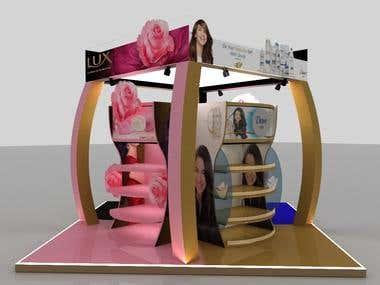 Super market Booth design