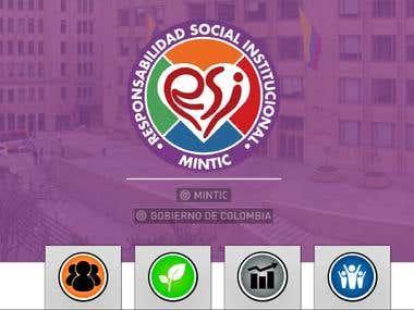 Modelo servicio al ciudadano web Mintic Colombia