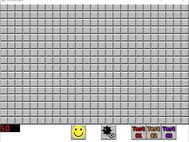 Minesweeper Game using SFML/C++