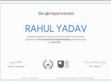 Google Certified Digital Marketing Expert