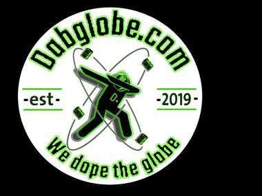 logo for dab globe .com