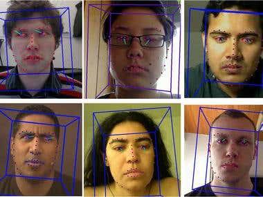 Gaze Tracking & Face Landmark Detection