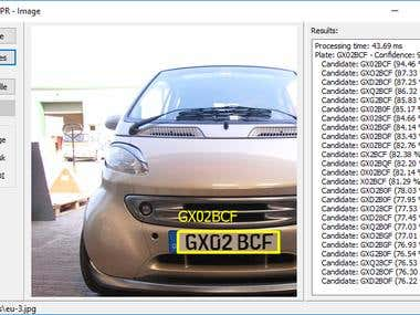 Automatic License Plate Recognition Project