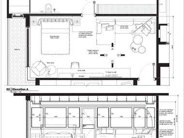 Interior plan and options